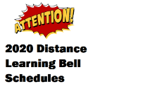 Distance Learning Bell Schedules