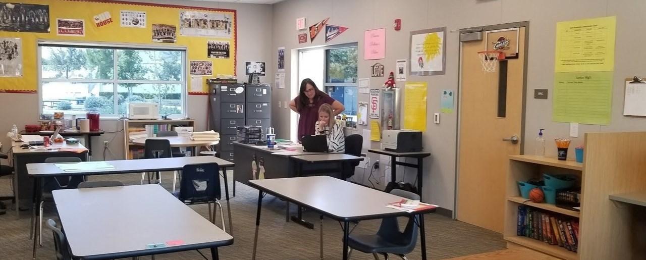 RSP Teachers Hard at Work